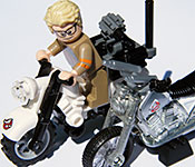 Mattel Ghostbusters Ecto-2 Motorcycle front