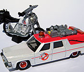 Mattel Ghostbusters Ecto-2 Motorcycle interior