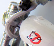 Mattel Ghostbusters Ecto-2 Motorcycle engine