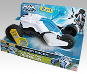 Mattel Max Steel Turbo Racer Packaging
