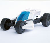 Mattel Max Steel Turbo Racer Chassis Detail