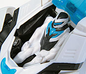 Mattel Max Steel Turbo Racer Rear Detail