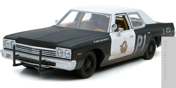 GreenLight Collectibles The Blues Brothers 1974 Dodge Monaco