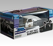 GreenLight Collectibles The Blues Brothers 1974 Dodge Monaco packaging