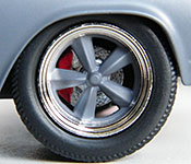 Jada Toys Fast and Furious Chevy Chevelle SS wheel detail