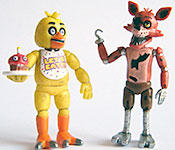 Five Nights at Freddy's Chica and Foxy