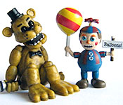 Five Nights at Freddy's Balloon Boy and Golden Freddy