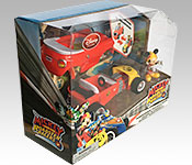 Disney Store Exclusive Mickey and the Roadster Racers Mickey packaging