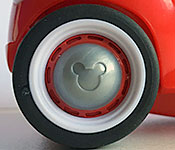 Disney Store Exclusive Mickey and the Roadster Racers Mickey wheel detail