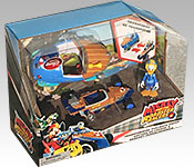Disney Store Exclusive Mickey and the Roadster Racers Donald packaging