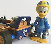 Disney Store Exclusive Mickey and the Roadster Racers racer with Donald figure