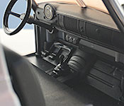 Jada Toys F8 Chevy Fleetline interior