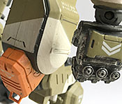Titanfall 2 BT-7274 hand and leg detail