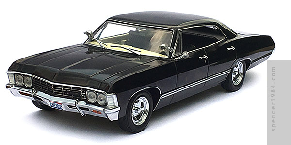 GreenLight Collectibles Supernatural 1967 Chevrolet Impala Sport Sedan