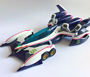 Mega House Future GPX Cyber Formula Ogre AN-21 rear nacelle with brakes deployed