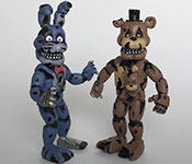 Five Nights at Freddy's Freddy and Endoskeleton