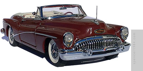 Danbury Mint 1953 Buick Skylark Convertible