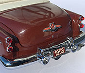 Danbury Mint 1953 Buick Skylark Convertible Trunk