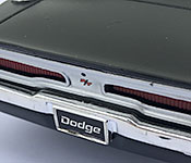 Ertl 1969 Dodge Charger R/T Rear