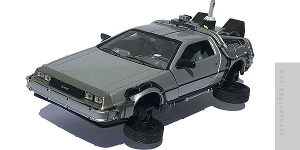 Welly DeLorean Back to the Future 2 Time Machine