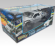 Welly DeLorean Back to the Future 2 Time Machine packaging