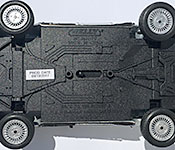 Welly DeLorean Back to the Future 2 Time Machine chassis