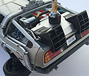 Welly DeLorean Back to the Future 2 Time Machine rear