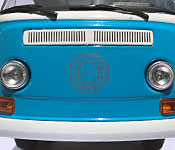 GreenLight Collectibles Lost 1971 Volkswagen Type 2 front fender detail