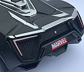 Jada Toys Lykan HyperSport trunk