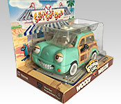 Chevron Cars Woody Wagon packaging