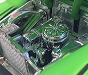 Jada Toys 1953 Chevy Bel Air engine