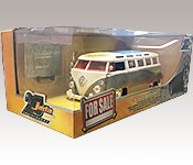 Jada Toys 1962 Volkswagen Bus Packaging