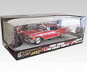 Jada Toys 1958 Cadillac Series 62 Packaging