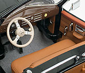 Yat Ming 1938 Cadillac V-16 Presidential Limousine front seat