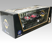 Lucky Die Cast 1950 Lincoln Bubble Top Presidential Limousine box