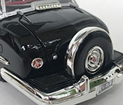 Lucky Die Cast 1950 Lincoln Bubble Top Presidential Limousine rear