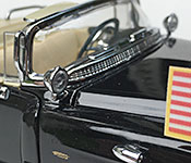 Yat Ming 1956 Cadillac Presidential Limousine cowl detail
