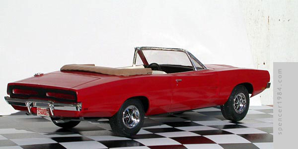 1969 Dodge Charger Convertible