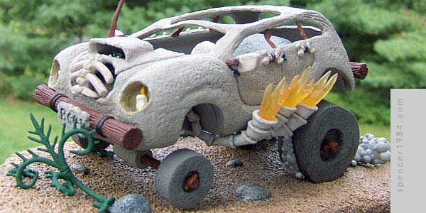 Fred's Cruiser inspired by the original cartoon The Flintstones