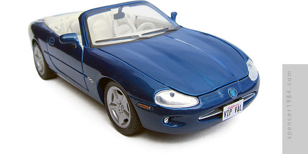 Vallery Irons' Jaguar XK8 from the TV series VIP