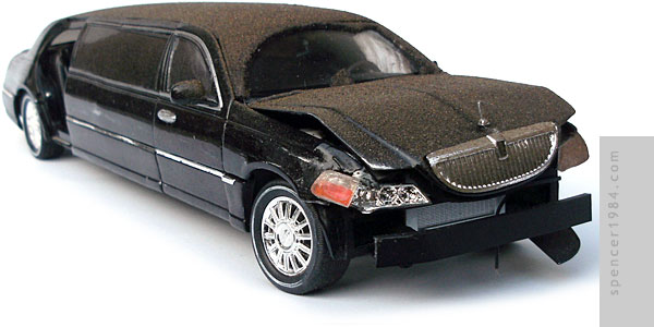 Lincoln Town Car Limousine from the movie 2012