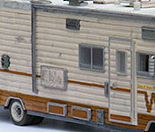 The Walking Dead Winnebago Chieftain side detail