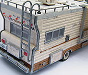 The Walking Dead Winnebago Chieftain rear corner detail