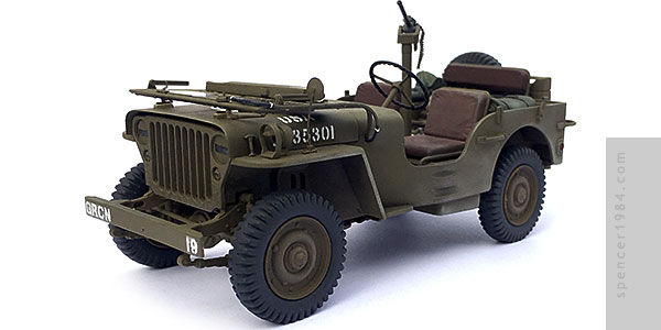 Willys Jeep MP from the movie Kelly's Heroes