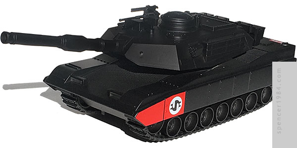 Tank inspired by the song Land of Confusion