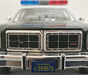 GreenLight Collectibles The Terminator 1977 Dodge Monaco front detail